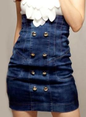 пошив джинсового платья