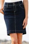 джинсовая юбка на заказ